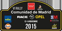 Logo VI Rallye Comunidad de Madrid - RACE
