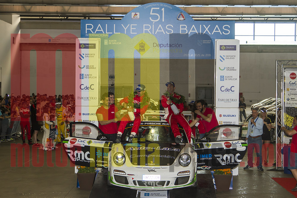 Cancelada la 52 edición del Rallye Rías Baixas