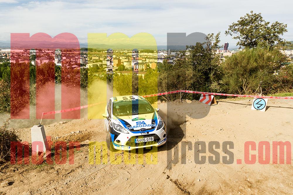 Angel Paniceres en el Rallye de Tierra de El Bierzo 2013