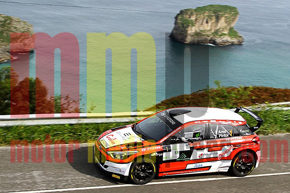 Iván Ares en el Rallye de Llanes