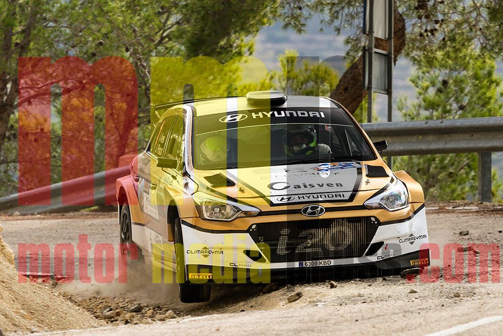 Iván Ares consigue la quinta en el Rallye La Nucía