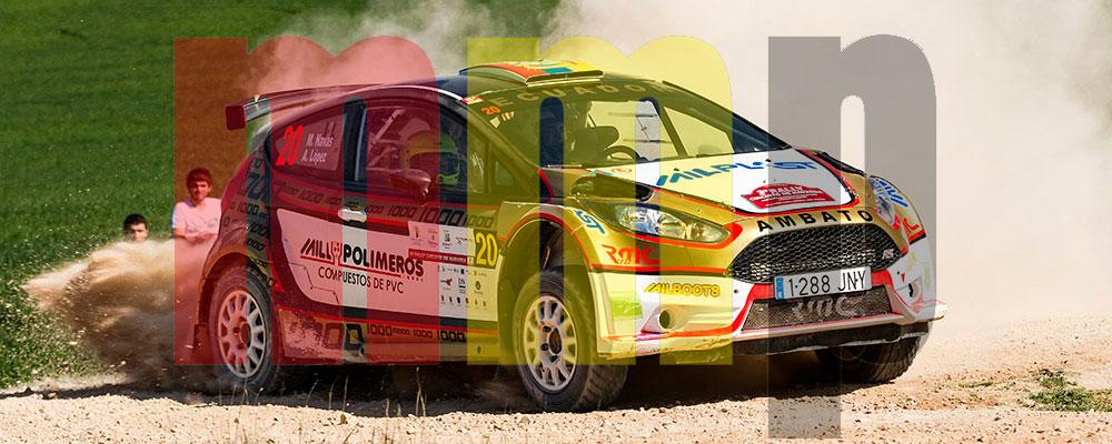 Martín Navas en el Rallye de Navarra de la pasada temporada