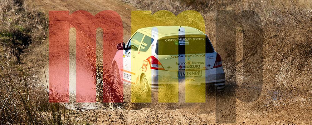Nicolás Cabanés en el Rallye de Tierra de Madrid
