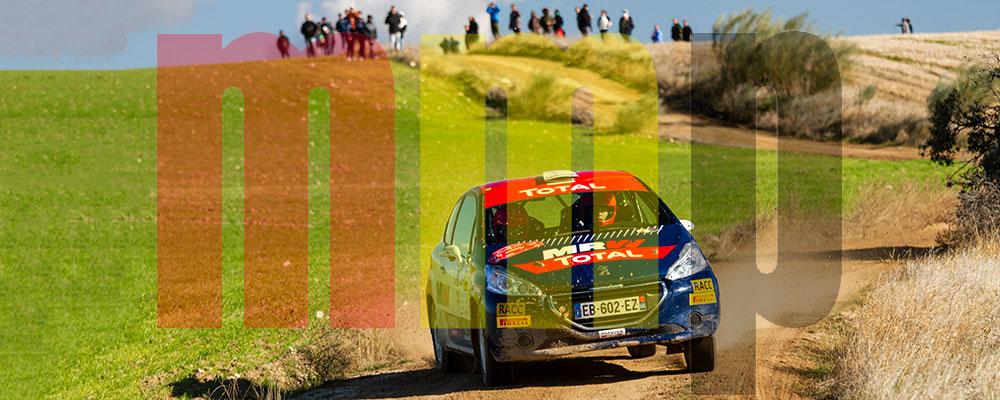 Jan Solans en el pasado Rallye de Tierra de Madrid
