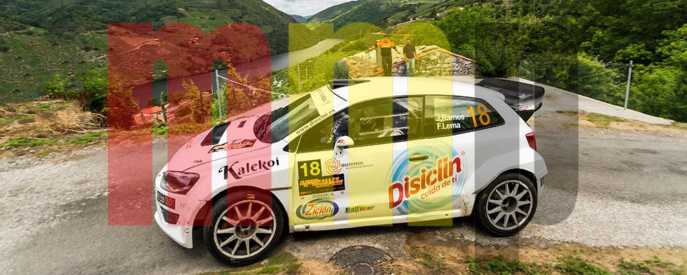 El Cañón do Sil es uno de los parajes típicos del Rallye de Ourense