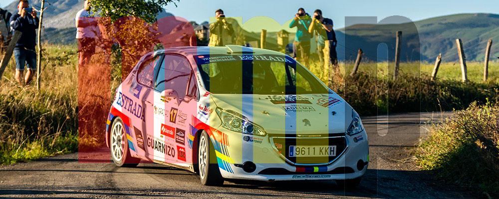 Domingo Estrada fue el piloto revelación del rallye