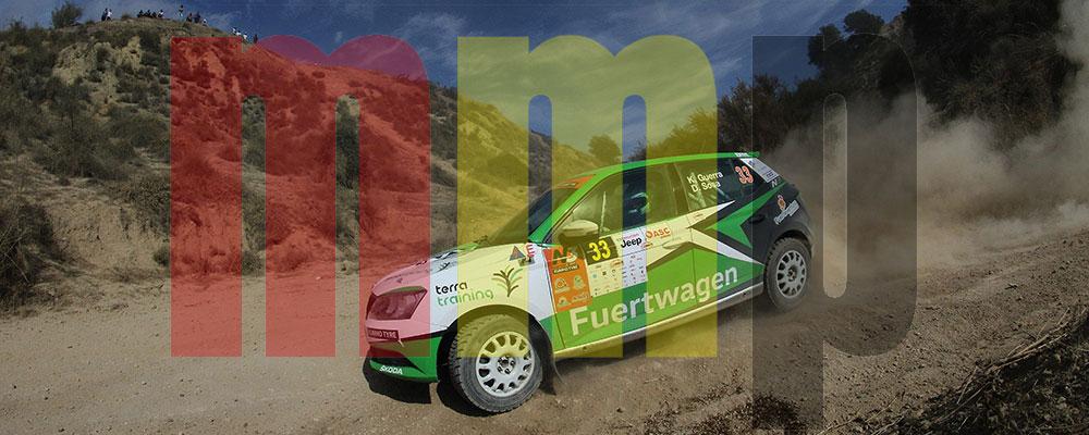 Kevin Guerra se acerca al título del Desafío Kumho N3 Rallye Cup