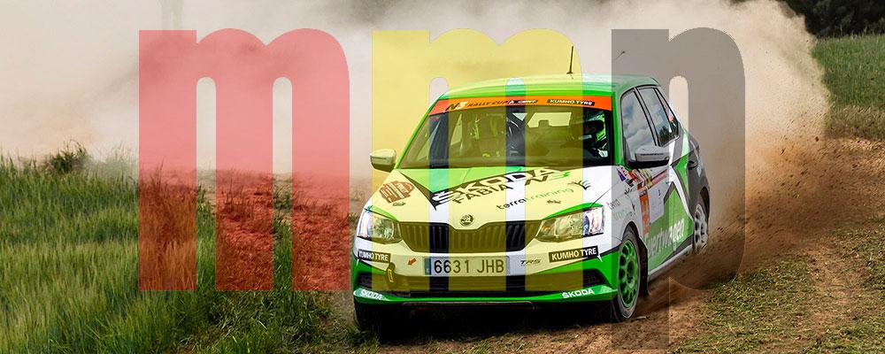 Kevin Guerra podría sentenciar el Desafío Kumho N3 Rallye Cup