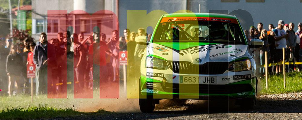 Kevin Guerra podría dejar casi sentenciado el Desafío Kumho N3 Rallye Cup