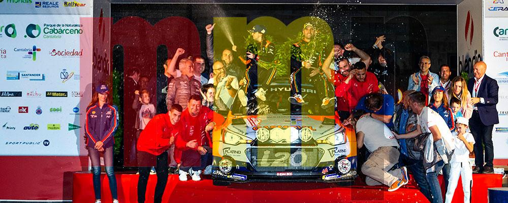 Un cántabro ganó la última edición del Rallye de Santander