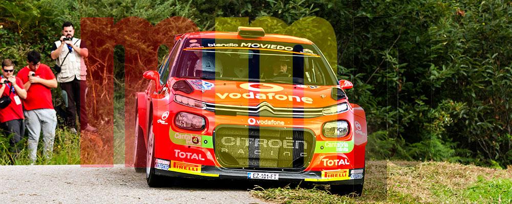 Chus Puras fue el amo del Rallye de Santander