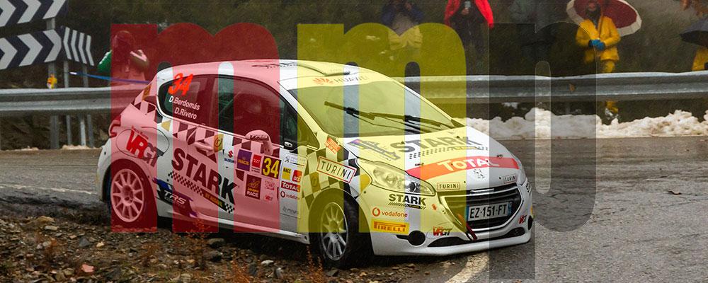 Daniel Berdomás ganaba las Dos Ruedas Motrices y la Peugeot Rallye Cup Ibérica