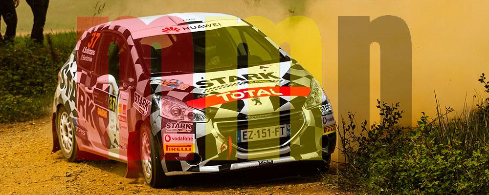 Daniel Berdomás llega a Madrid ya con el título de la Peugeot Rallye Cup Ibérica