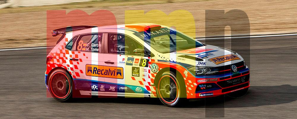 Cristián García le tomaba el pulso al Volkswagen Polo GTI
