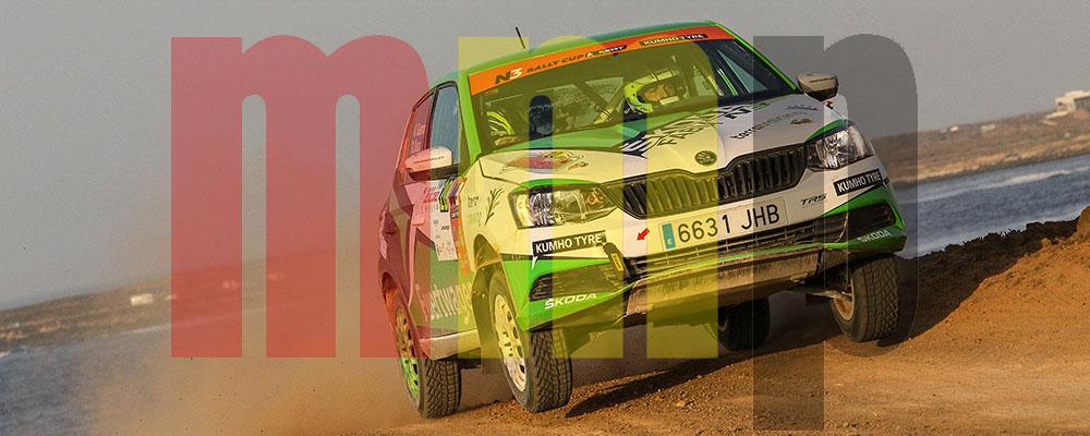 Kevin Guerra se proclamó campeón del Desafío Kumho N3 Rallye Cup