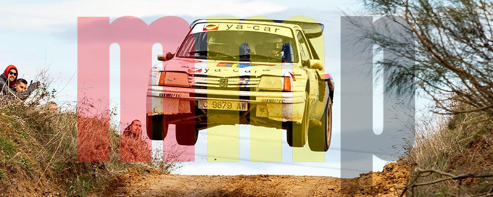 Álvaro Muñiz en el Rallye de Tierra de Madrid de la pasada temporada