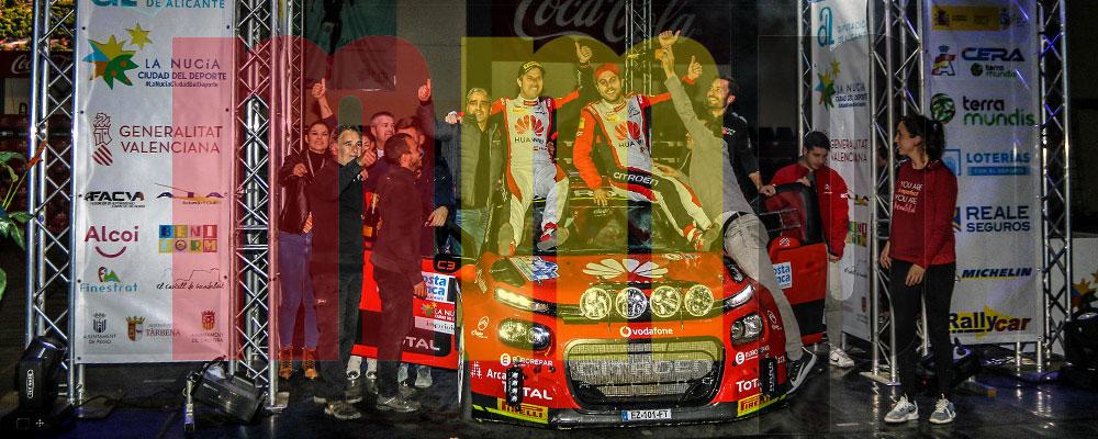 El Rallye de La Nucía le otorgaba el título a Pepe López