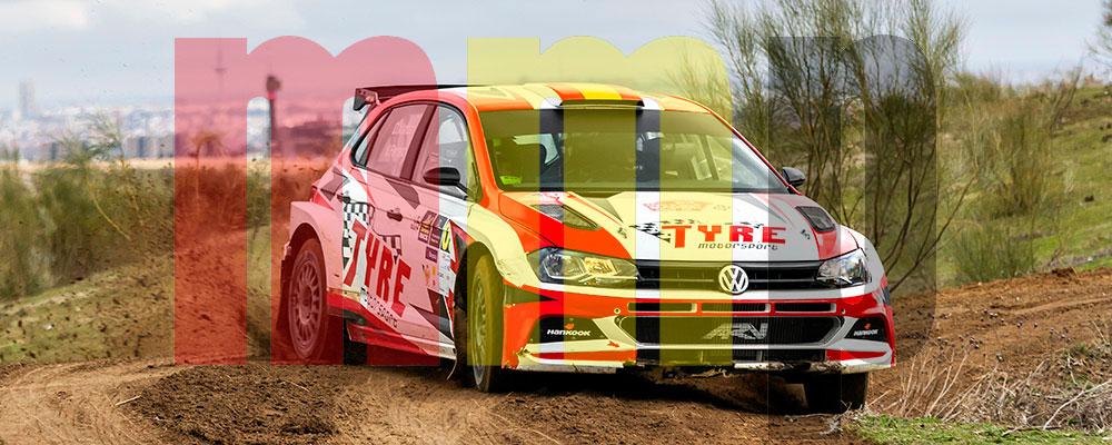 Daniel Marbán se imponía sin problemas en el Rallye de Tierra de Madrid