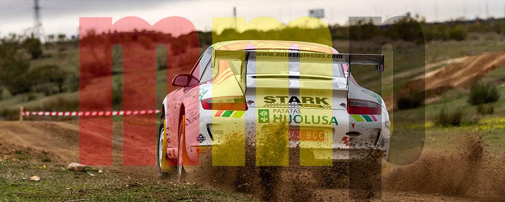 Sergio Vallejo en el Rallye de Tierra de Madrid