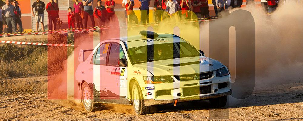 David Pérez en el Rallye Tierras Altas de Lorca 2017