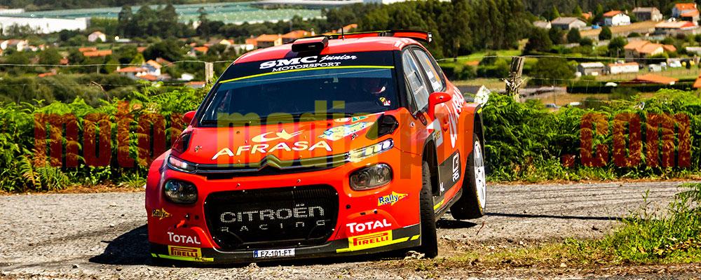 Alberto Monarri recuperaba posiciones en la segunda etapa