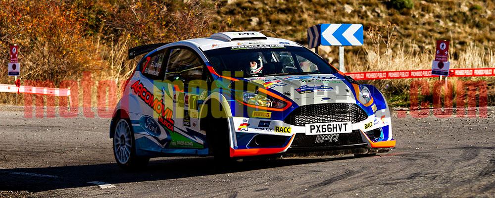 Efrén Llarena vuelve al CERA con el Rallye Team Spain