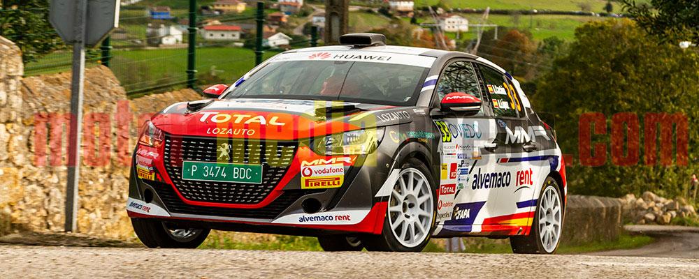 Alejandro Cachón tendrá la vista en la Beca Júnior R2 y la Peugeot Rallye Cup