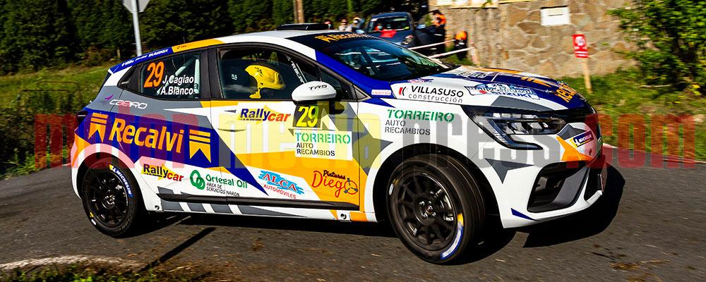 Jorge Cagiao ya tiene practicamente el título del Clio Rallye Trophy