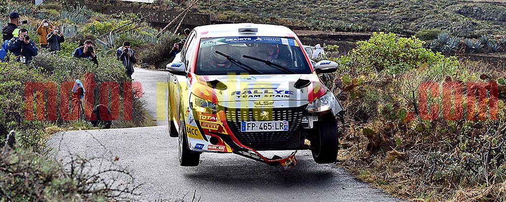 Josep Bassas era excluido al final del rallye tras dominarlo